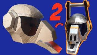 DIY: Make Fortnite Dj Yonder Helmet Part 2, free templates