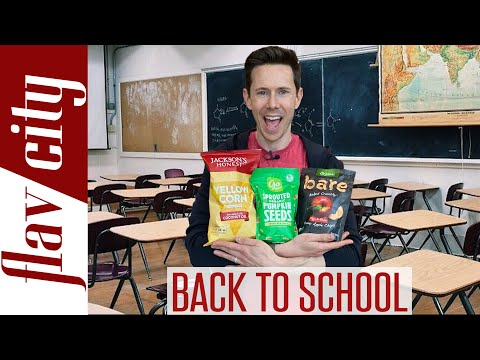 Back To School Grocery Haul - The Healthiest Snacks & Foods For Your Kids