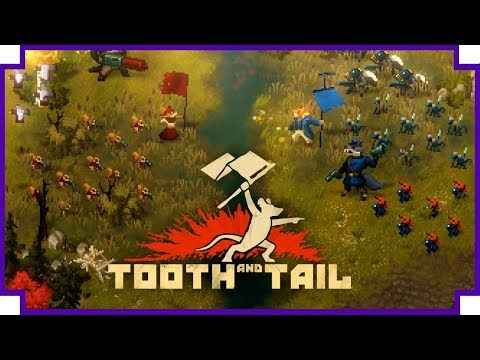 Tooth & Tail - (Real Time Strategy Game, with Animals...)