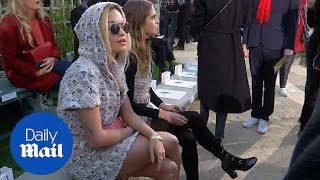 Rita Ora attends Chanel haute couture show at Paris Fashion Week - Daily Mail