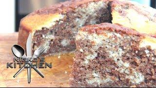 Chocolate Marble Cake - Video Recipe