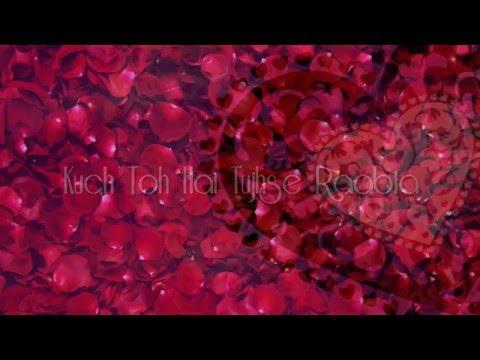 Raabta Lyrical Video