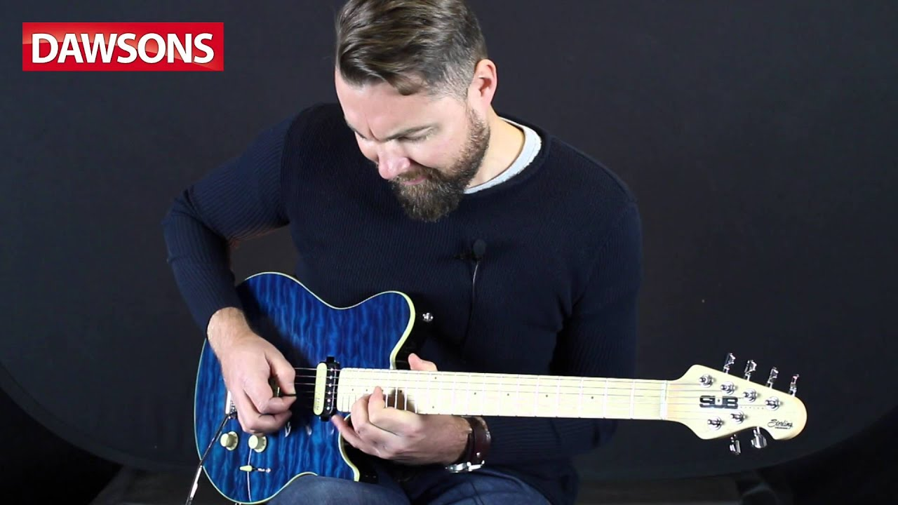 Sterling By Musicman SUB AX3 Review - YouTube
