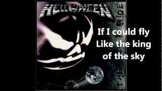 Helloween - If I Could Fly With Lyrics