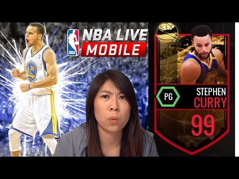 WOW! 99 OVR CURRY DRAINS FIVE 3-Pointers In 1MIN! | NBA LIVE MOBILE
