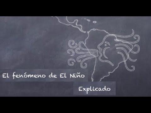 El fenómeno de El Niño explicado