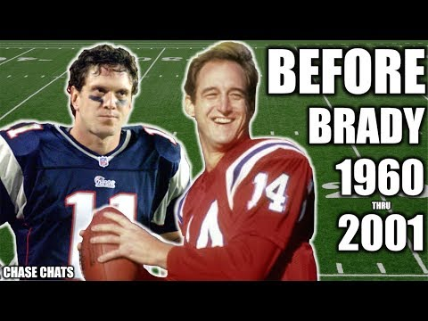 Patriots Quarterbacks BEFORE Tom Brady