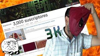 ESPECIAL 3K #MegaFalcon3k | MI CARA LOCOCHONA