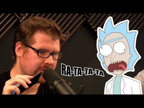 Animated Justin Roiland from Rick and Morty  Prank Call Joel Osteen's Church on H3 Podcast