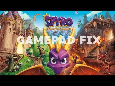 Spyro Reignited Trilogy gamepad not working fix Steering