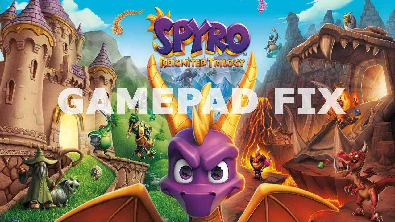 Spyro Reignited Trilogy gamepad not working fix Steering Wheel not detected  fix Repair gamepad i