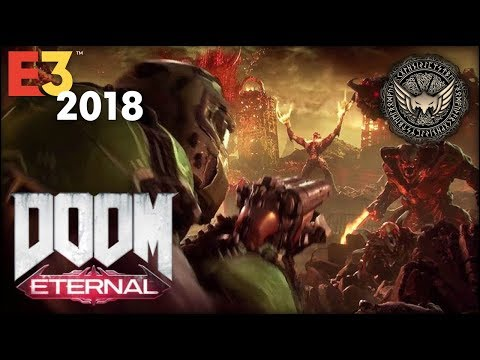 ➥ DOOM ▪  ETERNAL ◢WORLD PREMIERE ❚ TRAILER REACCIÓN ❚ Bethesda #E3 #E32018 #BE3 ◣ ƅỵ 🆆🅸🅺🅸🅽🅶🆆🅸🅽🅶🆂