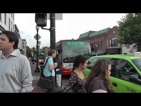 Washington:  Georgetown - ein uriger Stadtteil. Georgetown - a quaint neighborhood