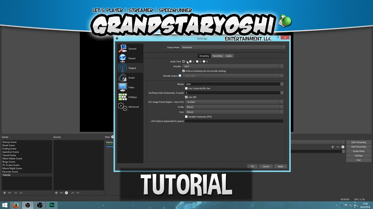 Obs how to stream