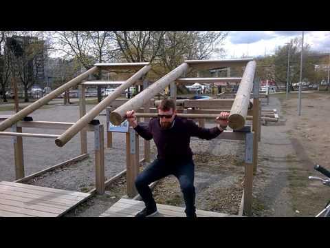 PeRun   Vlog#04   Outdoor Fitness in Stockholm   Sweden