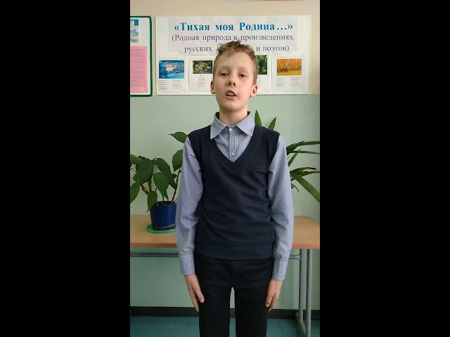 Изображение предпросмотра прочтения – ЕвгенийСирин читает произведение «Весенние перезвоны» А.А.Маркова