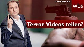 Angreifer filmt Terror-Attacke: Darf ich Gewalt-Videos teilen? | Rechtsanwalt Christian Solmecke