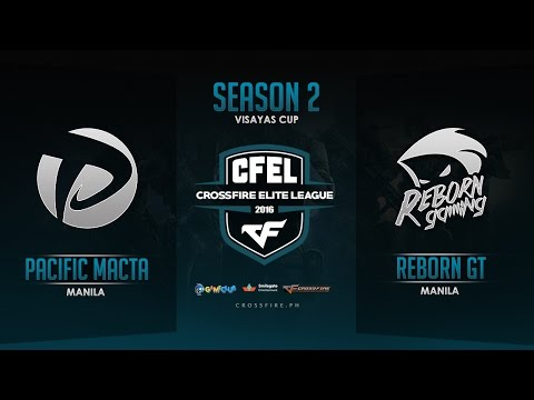 Pacific.Macta vs RebornGT – Crossfire Elite League Mindanao Cup – Round 5 Match 3