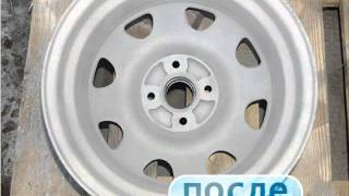 Мягкий бластинг - Очистка деталей автомобиля