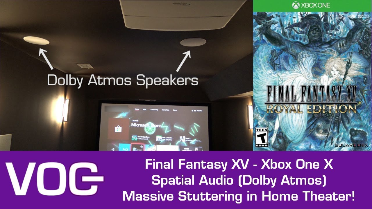 Final Fantasy XV (Xbox One X) AUDIO STUTTER with Spatial Audio (Dolby Atmos)