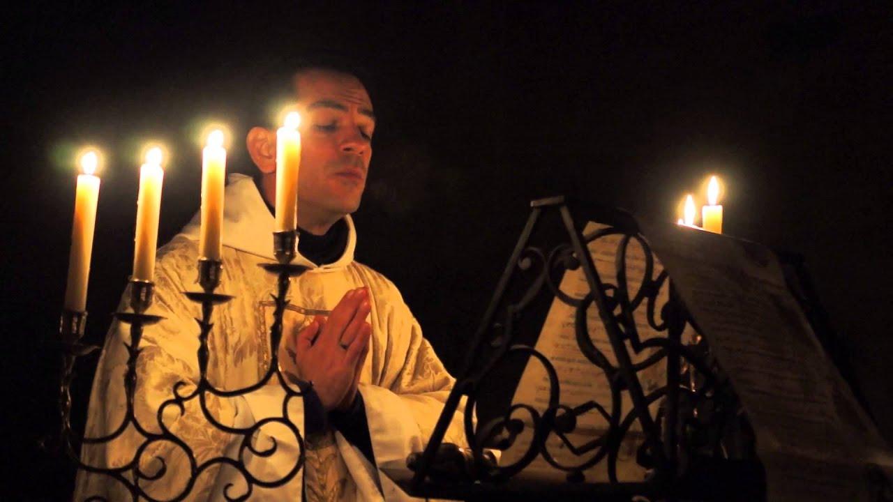 EXULTET (Pregon Pascual) - YouTube