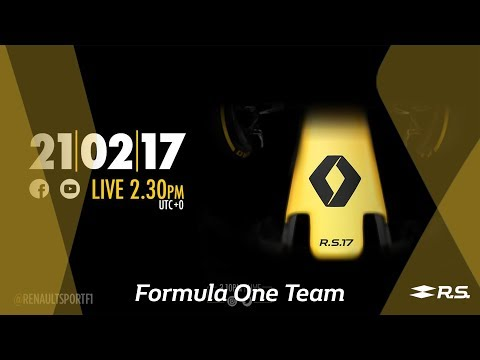 LIVE - Renault Sport Formula One Team R.S. 17 launch