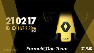 LIVE - Renault Sport Formula One Team R.S. 17 launch