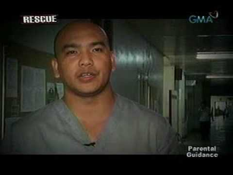 Rescue  Stray bullet hits gasoline boy   Rescue   GMA News Online   The Go To Site for Filipinos Eve