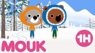 1 hour of Mouk | Winter Special compilation #3 HD | Cartoon for kids