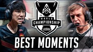 Best of Worlds 2019 (Solo Outplays, Craziest Teamfights and 200 IQ Moments)