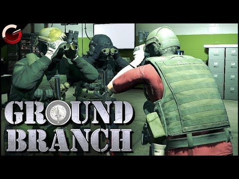 SPECIAL FORCES IN HEAVY FIREFIGHT! COOP Tactical Shooter | GROUND BRANCH Gameplay