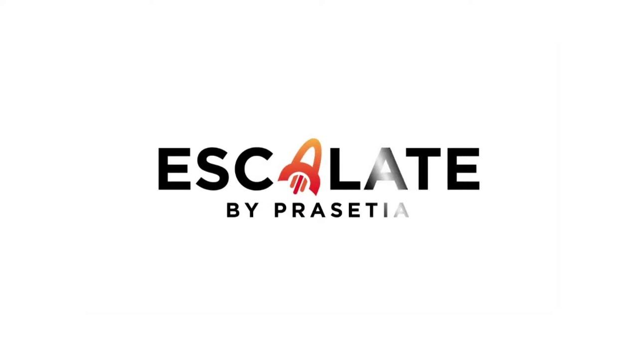 Escalate by Prasetia Virtual Press Conference
