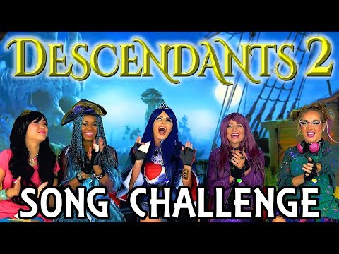 Descendants 2 Song Challenge with One Word Playlists. Totally TV