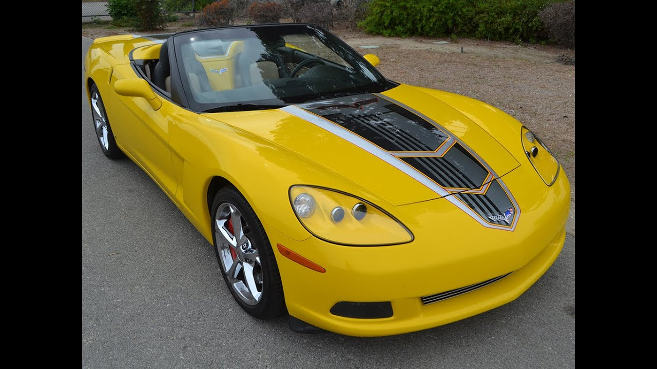 sold 2007 chevrolet corvette 3lt convertible velocity. Black Bedroom Furniture Sets. Home Design Ideas