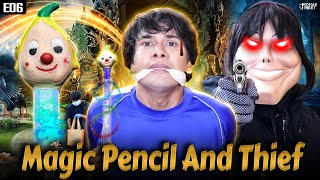 MAGIC PENCIL PART 6 : जादुई पेंसिल AND THIEF  SHORT FILM | SHAKA LAKA BOOM BOOM || MOHAK MEET