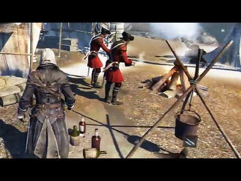 Assassin S Creed Rogue Ps3 Gameplay First Look Preview Hd
