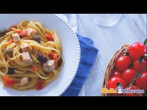 Pasta Con Pesce Spada Youtube