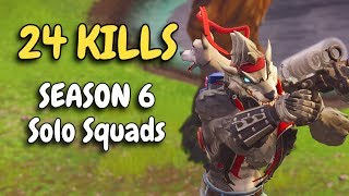 24 KILLS | SOLO SQUAD in Season 6
