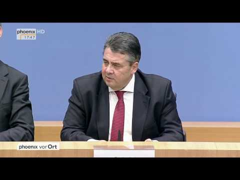 Rücktritt als Parteichef: Sigmar Gabriel zu seinem Wechsel ins Außenministerium am 25.01.2017