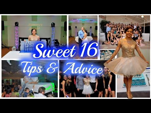 Planning the Perfect Sweet 16 ⎥Tips & Advice
