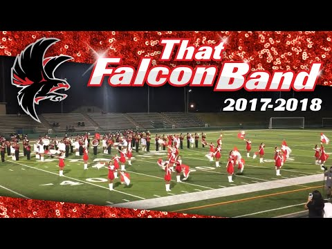 "Cranston High School West ""That Falcon Band"" 2017-2018"