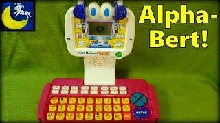 Vtech Alphabert the Ready to Read Robot Laptop Computer Toy!