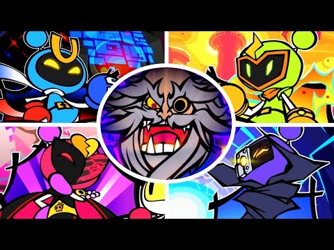 Super Bomberman R - All Bosses + Cutscenes (2 Players)