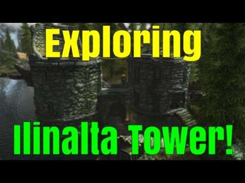 SKYRIM SPECIAL EDITION: Exploring Ilinalta Tower! A Brand new Player home!