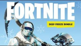 I buy the PACK FROID ETERNEL !!! (fortnite)