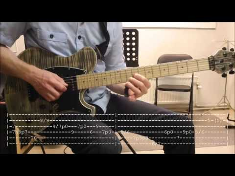 Open Strings & Slides Country Rock by Roo (Flash Point) TABS