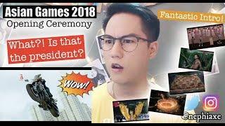 Download lagu Cuplikan Kemeriahan Opening Ceremony Asian Games 2018 | REACTION