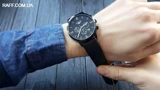 Мужские классические  наручные часы LIGE обзор, настройка