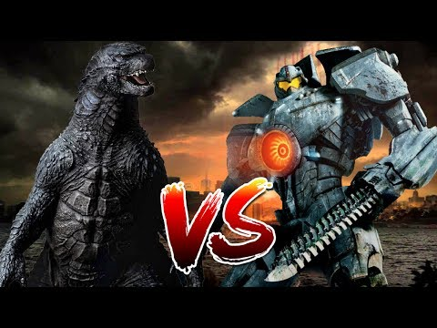 Godzilla VS Gipsy Danger | Who Wins?