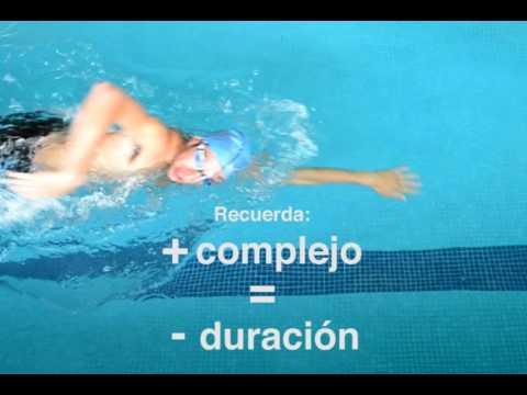 Plan de natacion para perder peso